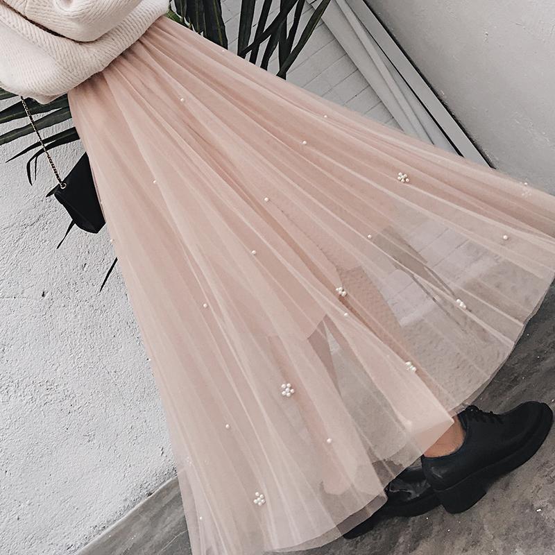 釘珠蓬蓬裙