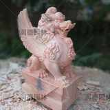 Stone carving, natural stone, fine carving, hotel clubhouse, door decoration, lucky garden decoration