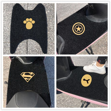 Electric motorcycle stepping pad pad pedal pedal universal battery tram non-slip little turtle king waterproof self-cutting Yadi