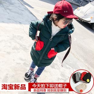 女童棉衣2017新款1一3-7岁女韩版可爱儿童装时尚羽绒棉服公主冬季