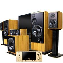 哈士HAX1865.1家庭影院12寸音箱套装hifi音响低音炮蓝牙高清功放