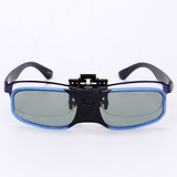 Nearsighted clip active shutter 3D glasses Epson TW5400/5600 Sony HW49/69 projector, etc.
