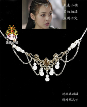 Xuan Jian Han cloud transverse Ai Ying classical wipe forehead hair hairpin step rocking cos can do other colors 35 yuan