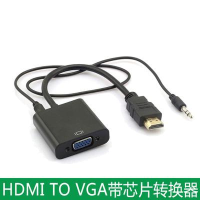 联想华硕戴尔宏基笔记本电脑hdmi转vga转换器接头连投影仪显示器网上商城
