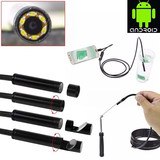 Waterproof snake industry Android endoscope USB HD probe pipe camera auto repair tooth oral peep