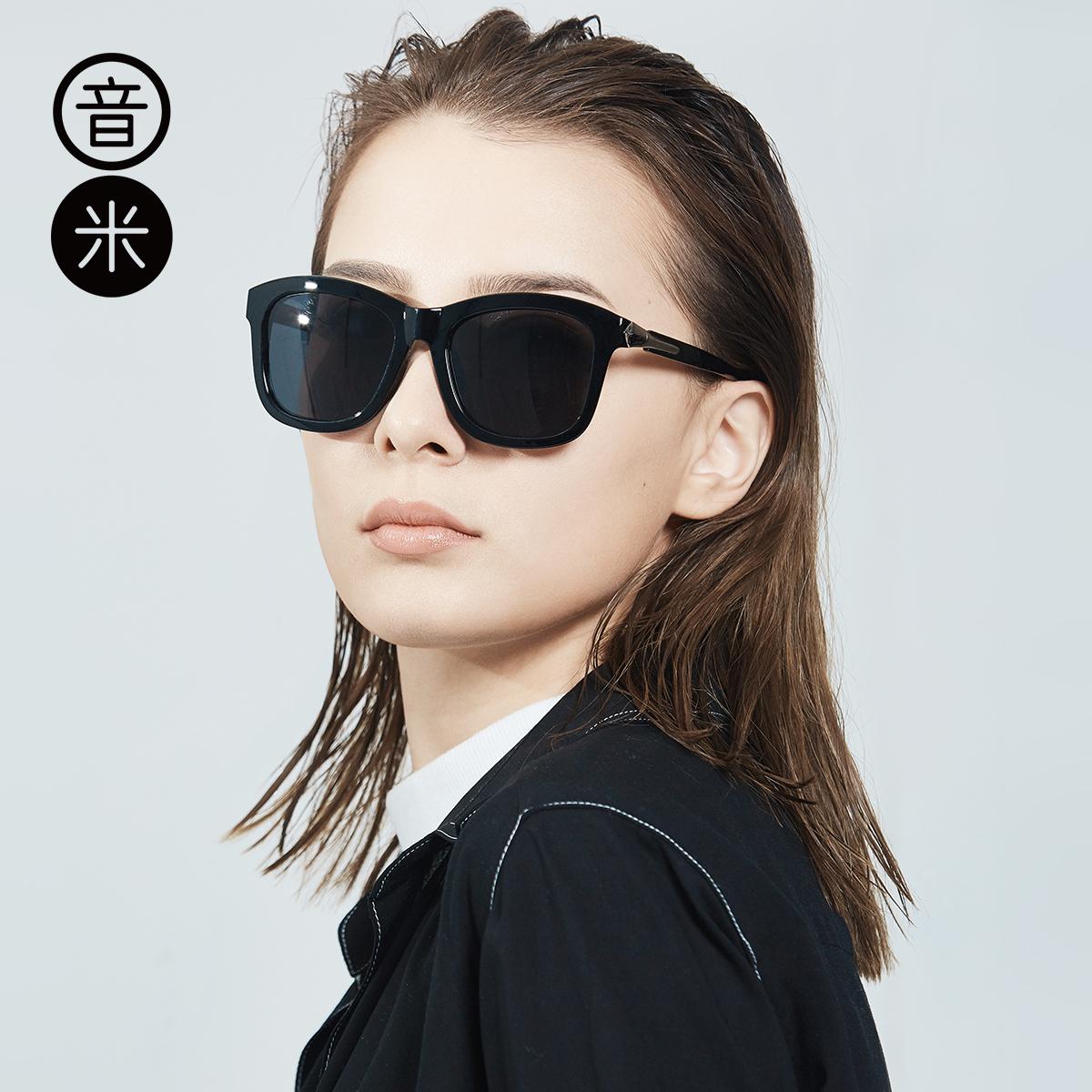 大框黑超墨镜