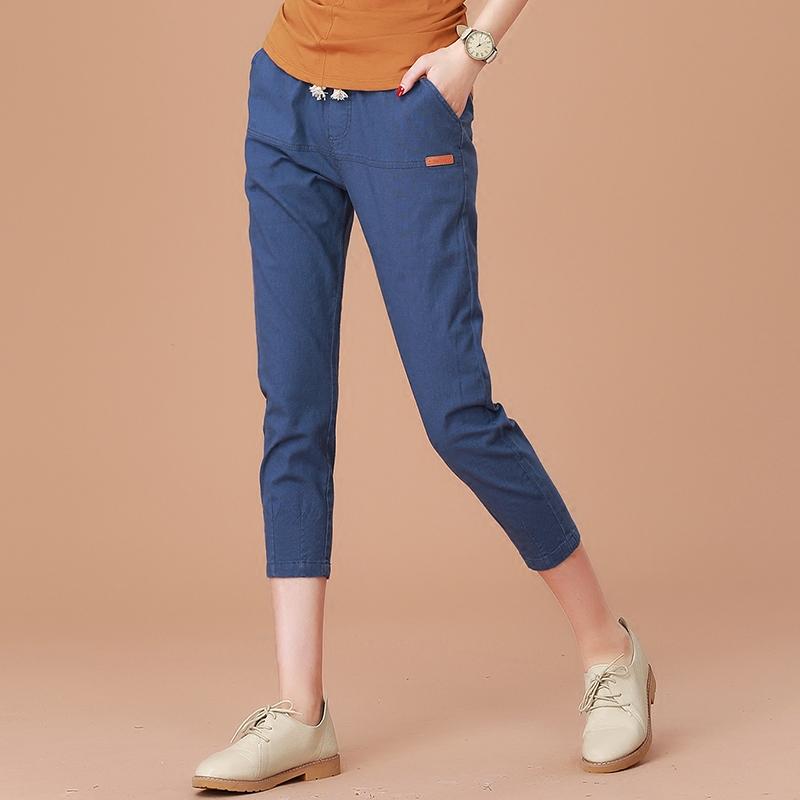 宽松棉质宽松裤