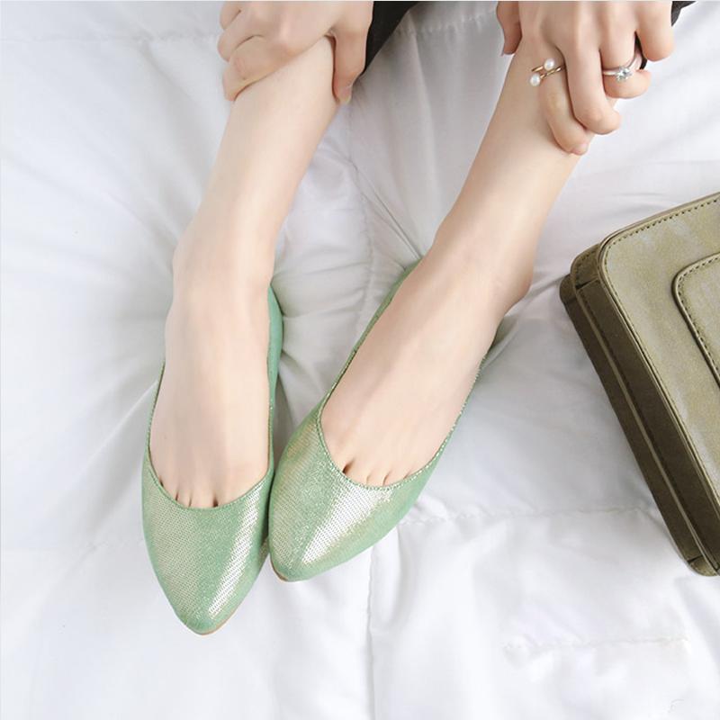 单鞋皮裂纹皮