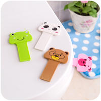 Home 掀 Toilet lid Handle Toilet Clamshell Cartoon Capping Toilet Handle Uncoverer