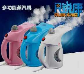 锐康手提蒸汽挂烫机家用烫衣服蒸脸两用熨烫机小型便携式熨斗手持
