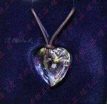 1021538礼物 现货绝版限量版大水晶心项链图片