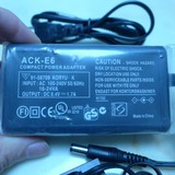 Canon EOS60D 80D 70D 6D 5D3 power adapter ACK-E6 E6N external battery 5D direct charging
