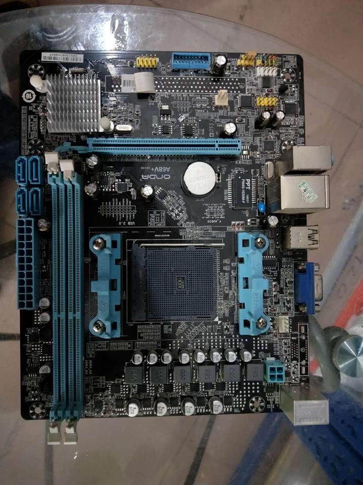 二手 拆机Onda/昂达A68V+ FM2/FM2+ 支持AMD 840 760K 860K 7650K