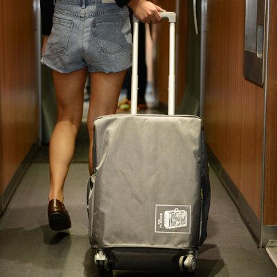 行李箱保护套旅行箱套拉杆皮箱加厚耐磨防尘罩袋24寸28箱子20外套
