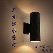 创意铝材LED壁灯床头灯简约户外防水壁灯客厅背景楼梯走廊过道灯