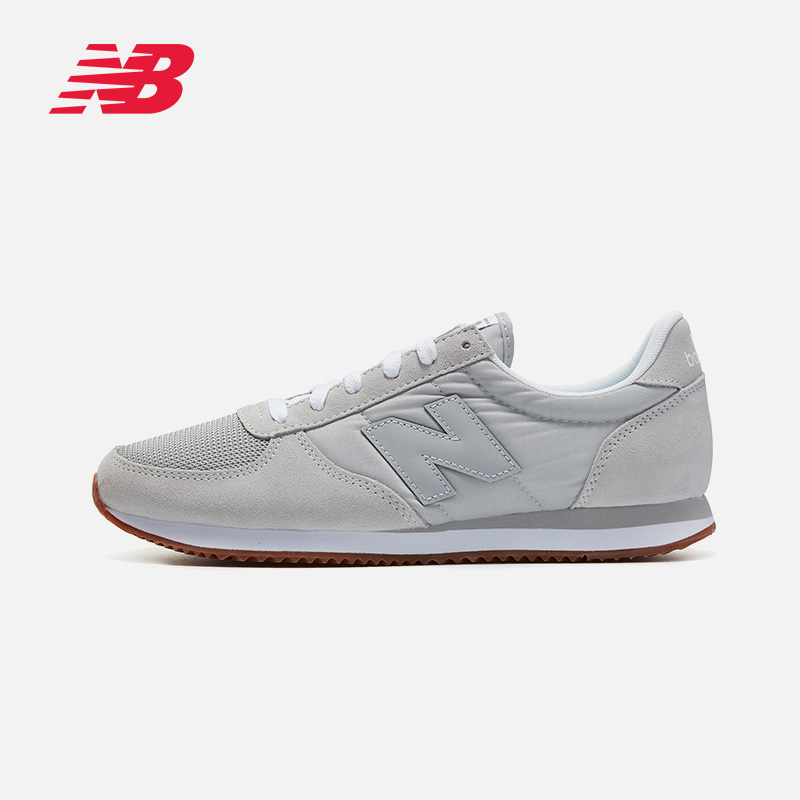 New Balance NB官方男鞋跑步鞋U220EB复古鞋舒适运动鞋简约休闲鞋