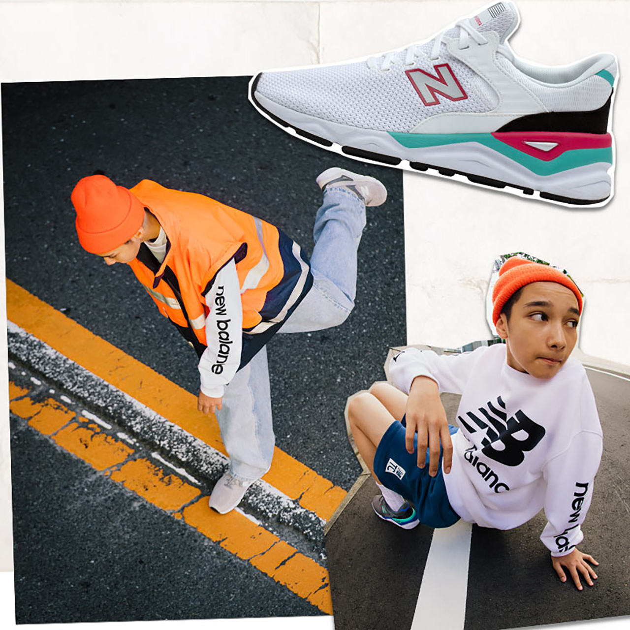 New Balance/NB X90系列  男鞋女鞋复古运动鞋MSX90CRA