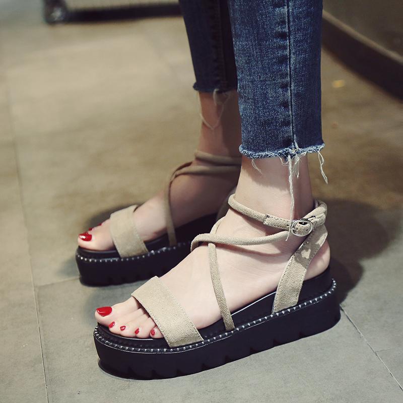 日常舒适罗马鞋