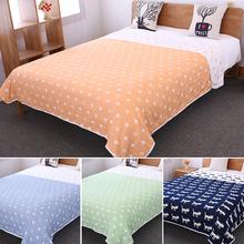 【瑕疵亏本卖】三四层纱布纯棉纱布单双人毛巾被夏季空调盖毯床单
