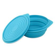 折叠伸缩饭盒户外折叠餐具折叠碗硅胶饭盒便携餐具泡面碗食品级