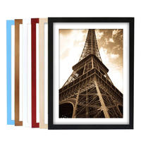 Solid wood photo frame hanging wall 16 inch 14 18 20 24 creative 8 open 4kA3 puzzle poster framed frame frame a4