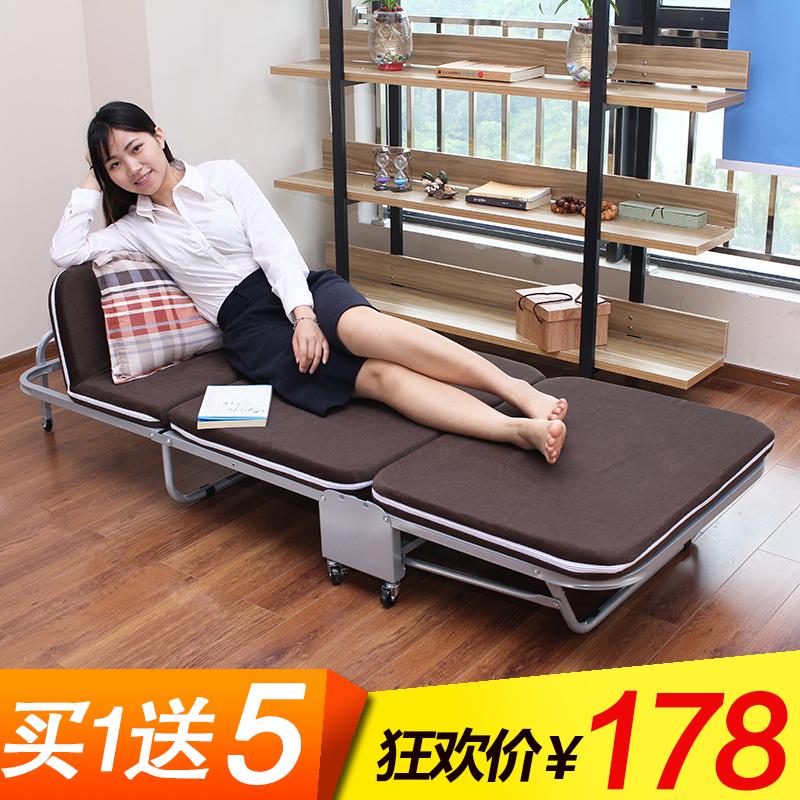 折叠床双人海绵床