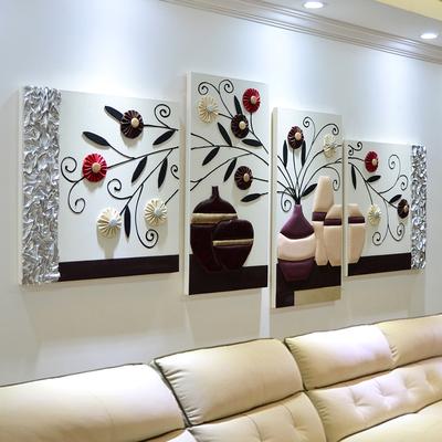 立体画沙发墙性价比高吗