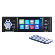 HD 4.1 inch car MP5 player, car Bluetooth MP4 card reader, audio video host car charging.