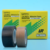 Nibang NIPPO brown black imported Teflon tape Four fluoro-resistant high temperature adhesive cloth sealing machine tape