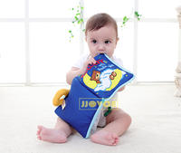 Vibrating sound with the same bear good night stereo cloth book Baby puzzle early education cloth book baby doll toy 0-1-2 years old