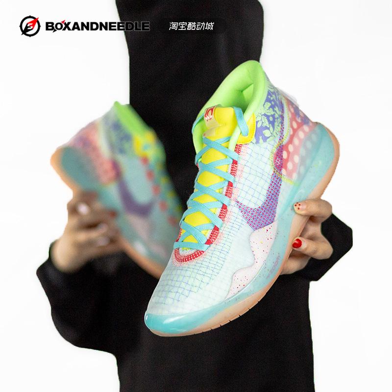 指南针NIKE ZOOM KD12勇士杜兰特12代篮球鞋AR4230 CK1197 AR4229