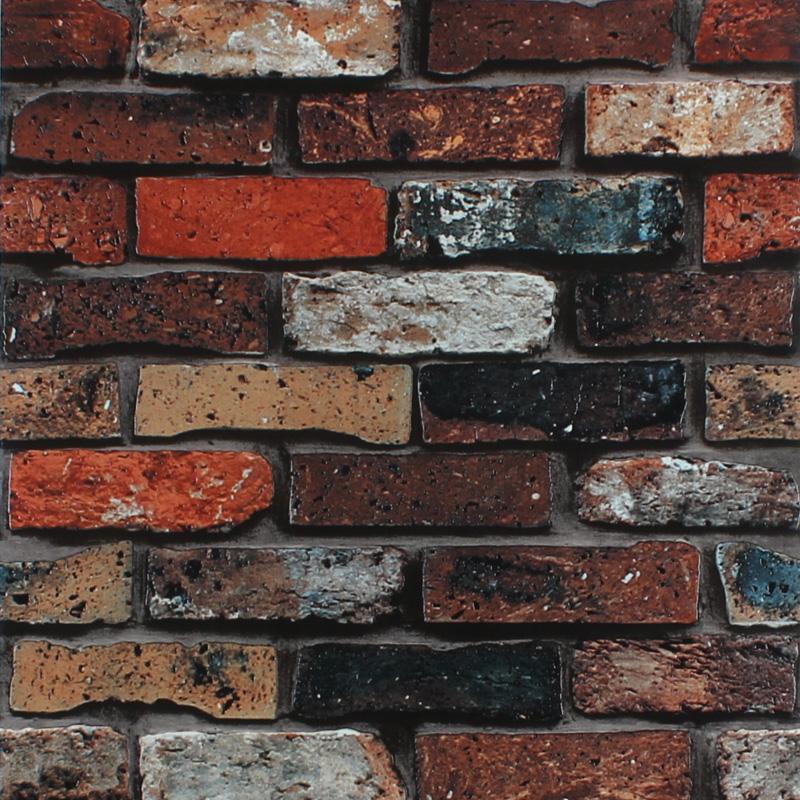 仿真砖块墙纸背景墙