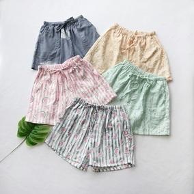 口碑在外 日本棉纱布 穿出门也好看,睡裤/短裤/家居裤 特价40295