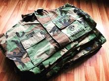 vintage四色叢林迷彩戰術服美產軍版原品公發作訓衣BDU戰斗服