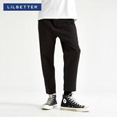 休闲裤 男士 宽松日系9分裤 韩版 潮牌哈伦裤 Lilbetter九分裤