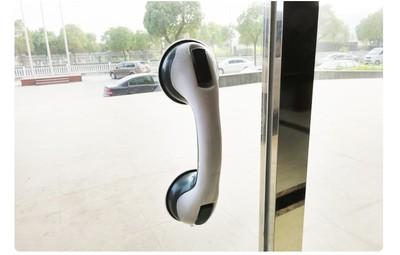 玻璃艺术欧式推拉按压式厨房卧室粘贴吸力门窗把手吸盘拉手冰箱