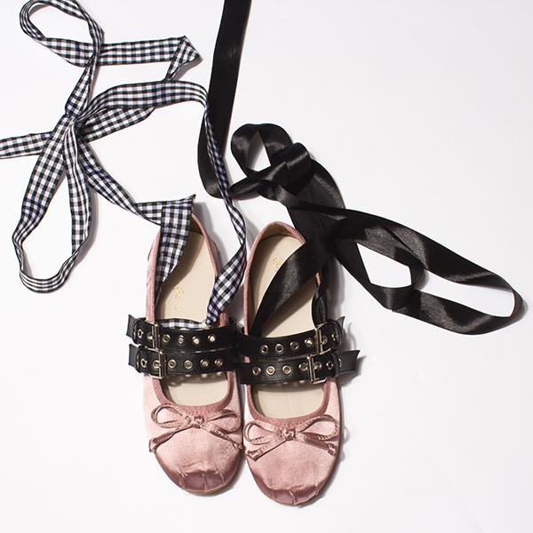 带子女单鞋