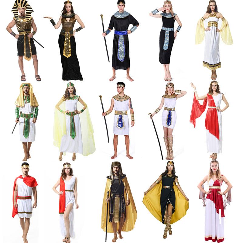 艳后埃及古希腊成人服装法老男女王装扮