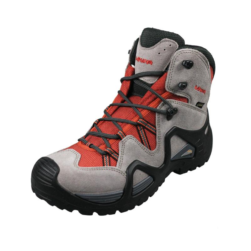 LOWA男女款户外登山徒步鞋ZEPHYR GTX中帮防水透气防滑旅行鞋耐磨