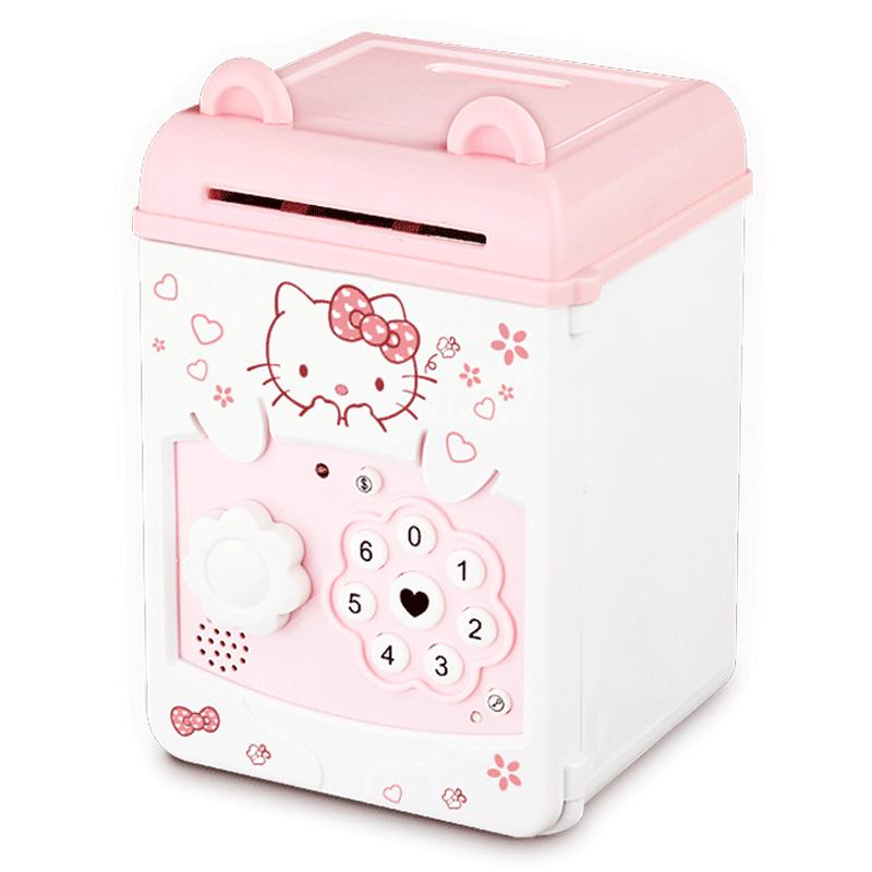 存钱罐储钱罐儿童防摔储蓄女孩男孩密码箱 ATM 韩国创意大人超大号
