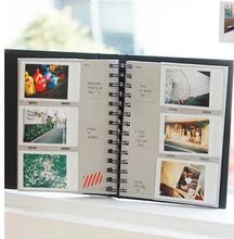 标准3寸相册富士拍立得大容量火车票电影票微信照片收纳本120张入
