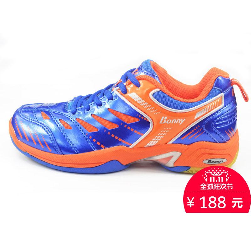 新款羽毛球鞋波力男运动鞋防滑减震女跑鞋透气302冬包邮