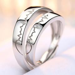 女款纯银指环
