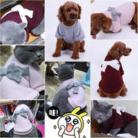 Autumn and winter cat clothes dog clothes autumn clothes pet law fighting small dogs than bear Teddy cat clothes puppy winter clothes
