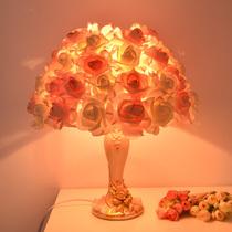最灯饰台灯后现代简约美式卧室床头灯琉璃创意时尚灯具书房客厅灯