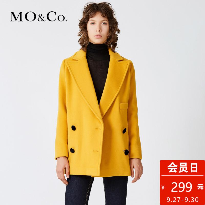 a型毛呢大衣
