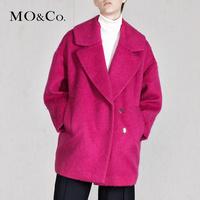 羊毛呢外套中长款大翻领