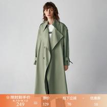 大衣外套chic春秋季新款女装韩版修身小个子风衣女大码中长款2018