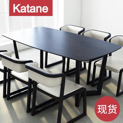 餐桌椅组合6人长方形橡木多少钱