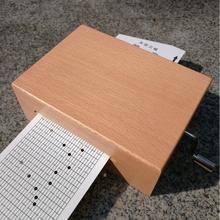韵升30音手摇电动纸带谱曲机芯 DIY音乐盒实木刻字八音盒生日礼物